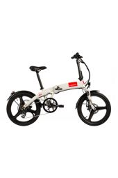 "S-Bikes F50 zložljivo 20"" bela"